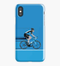Bradley Wiggins Team Sky iPhone Case