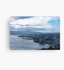Honolulu Canvas Print