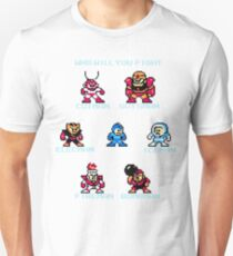 Megaman Who will you fight T-Shirt