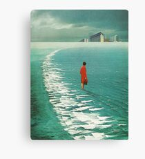 Waiting For The Cities To Fade Out Canvas Print