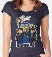 Superwholock Women's Fitted Scoop T-Shirt
