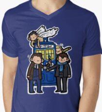 Superwholock Men's V-Neck T-Shirt