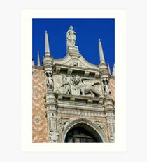 The Doges' Palace, Venice Art Print