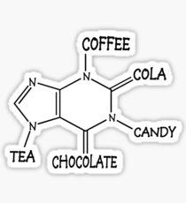 Caffeine Sticker