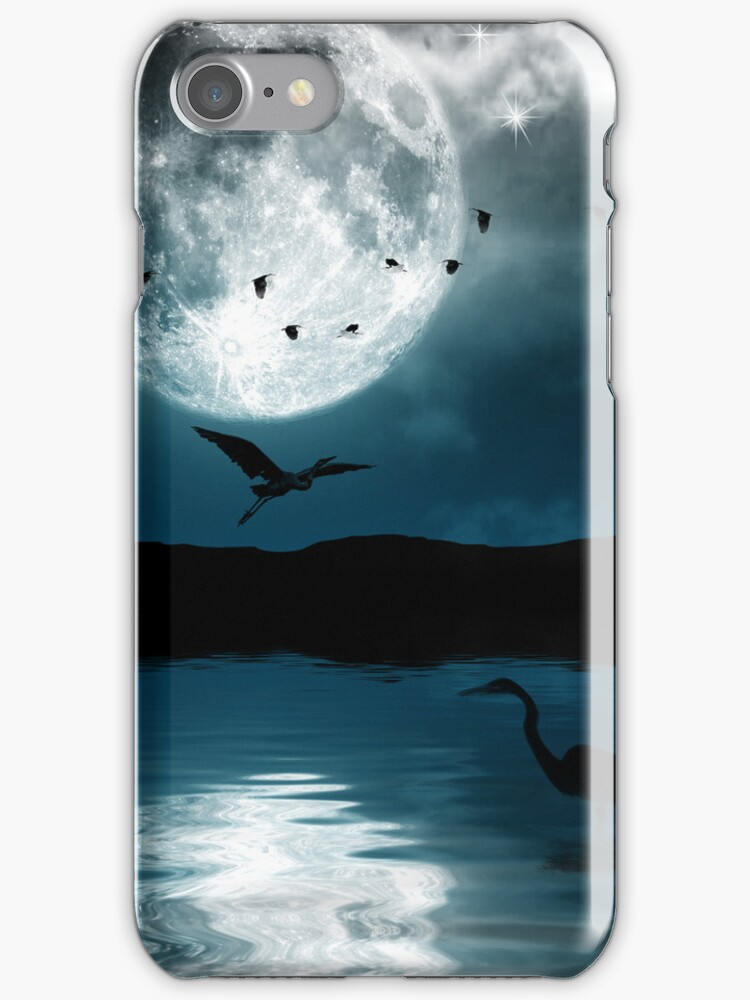 Night sky for iphone by Nathalie Chaput