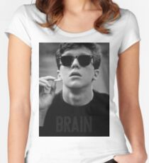 Brain - The Breakfast Club Women's Fitted Scoop T-Shirt