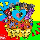 Turrón Peruano - City Heart [2] by PESCORAN