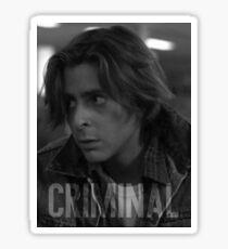 Criminal - The Breakfast Club Sticker