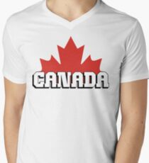 Canada Men's V-Neck T-Shirt