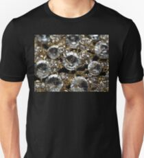 Diamonds and Gold SuperMacro 11 T-Shirt