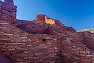 Wupatki Ruins, Sunrise AZ by photosbyflood