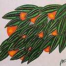 Lots of Oranges by Guy Wann