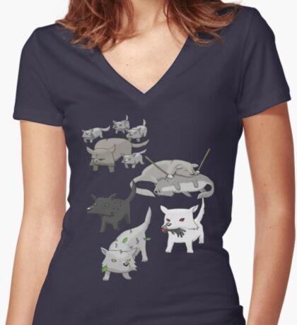 House Stark Women's Fitted V-Neck T-Shirt