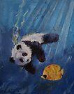 Panda Diver by Michael Creese
