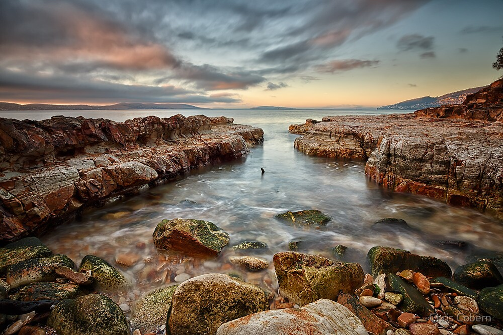 Bellerive Bluff Sunrise #14 by Chris Cobern