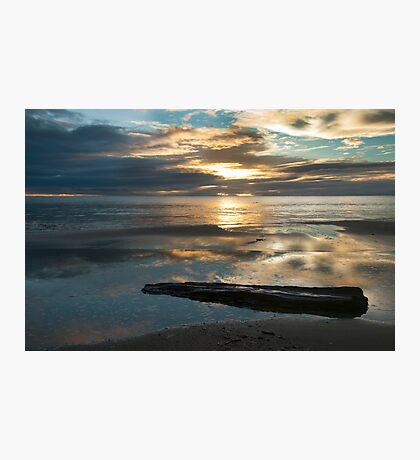 Washed Up - Etty Bay sunrise Photographic Print