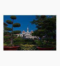 Vietnam. Ho Chi Minh City (Saigon). Former City Hall. Photographic Print