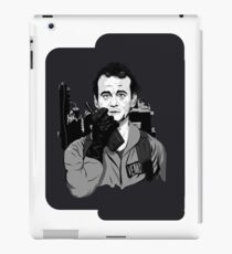 Ghostbusters Peter Venkman illustration iPad Case/Skin