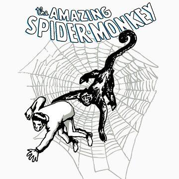 Amazing Spidermonkey by TragicHero