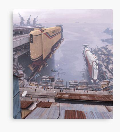 Magnetskepp, Taigaleden Canvas Print