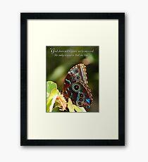 Success  Framed Print
