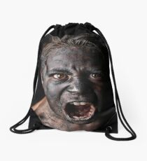 Don't Apply Compression Drawstring Bag