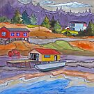 On the Shores of Newfoundland by bevmorgan
