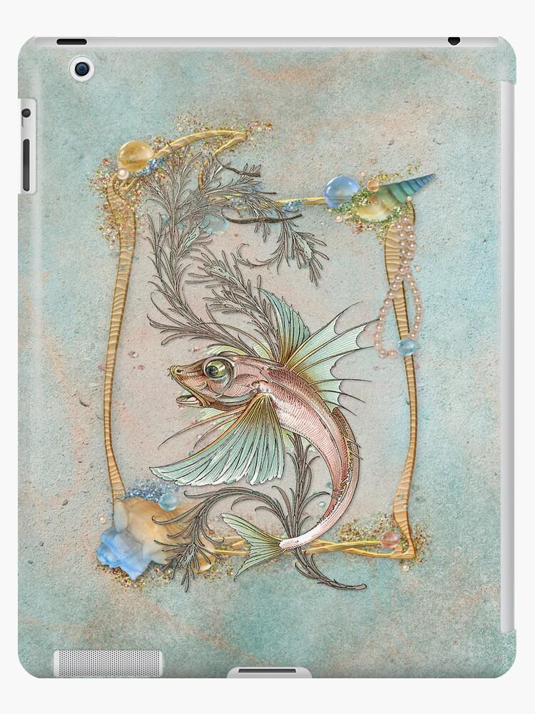 Fantasy Fish Art Nouveau by SpiceTree
