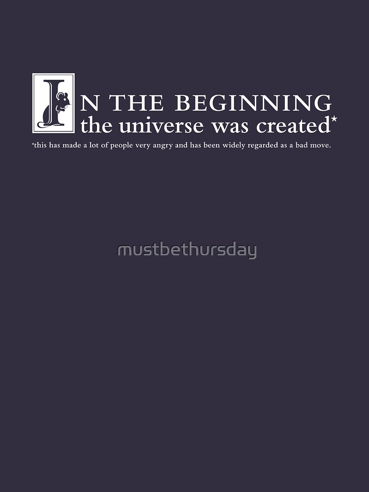 Universe Quote by mustbethursday