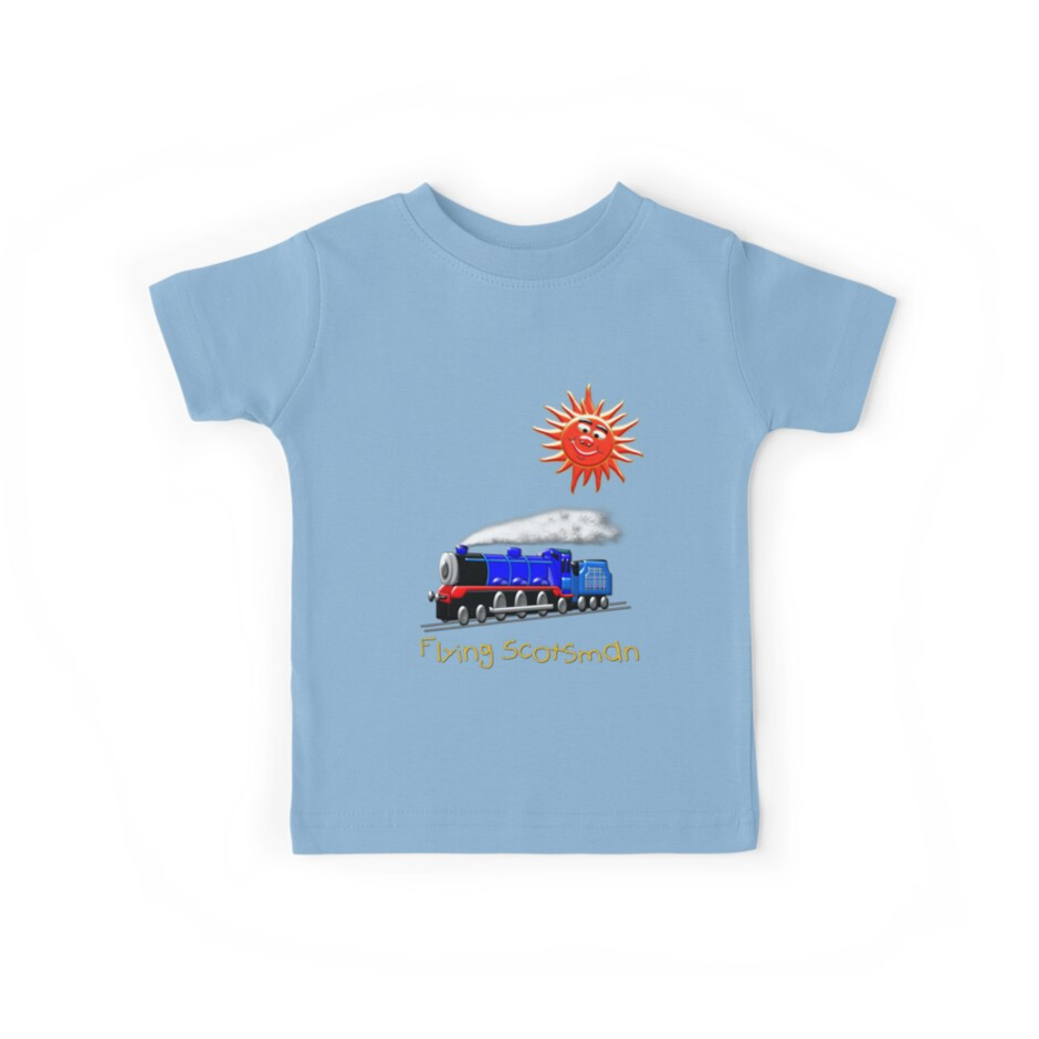 Flying Scotsman for Kids T-shirt by Dennis Melling