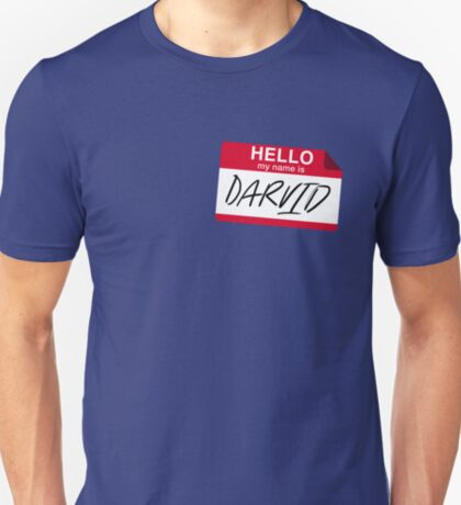 My Name Is Darvid (No Mistake) T-Shirt