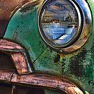 Vintage Chevy 1 by Nancy de Flon