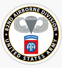 82nd airborne stickers redbubble