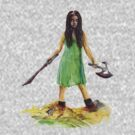 River Tam from Serenity/Firefly T-shirts and Kids Clothes by gothscifigirl