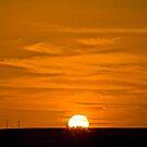 Marree Sunset - South Australia by Norman Repacholi