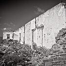 The last wall standing - Flinders Ranges - South Australia by Norman Repacholi