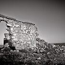 Improvised Arch - Flinders Ranges - South Australia by Norman Repacholi