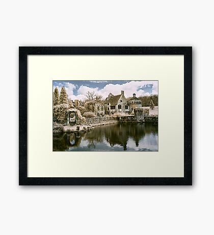 Reflections In Infrared Framed Print