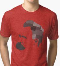 Camiseta de tejido mixto Lo que no nos mata nos hace más fuertes