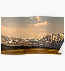 Castle Mountains Poster