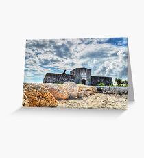Fort Montagu in Nassau, The Bahamas Greeting Card