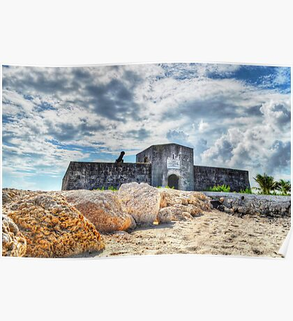 Fort Montagu in Nassau, The Bahamas Poster