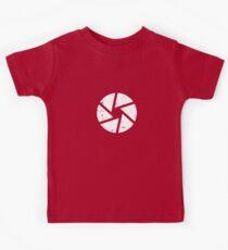 Iris Logo, White Kids Clothes
