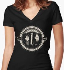 Will The Circle Be Unbroken? Women's Fitted V-Neck T-Shirt
