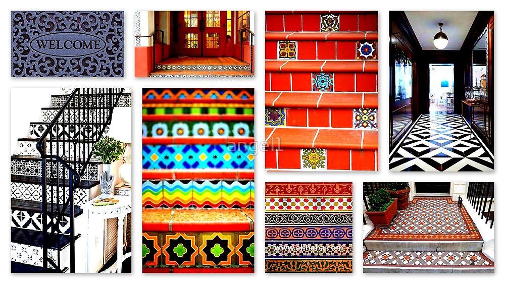 Tiled Entrances by ©The Creative  Minds