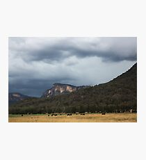 Glen Davis Mountains Photographic Print