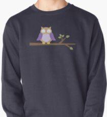 Spring Owl Pullover Sweatshirt