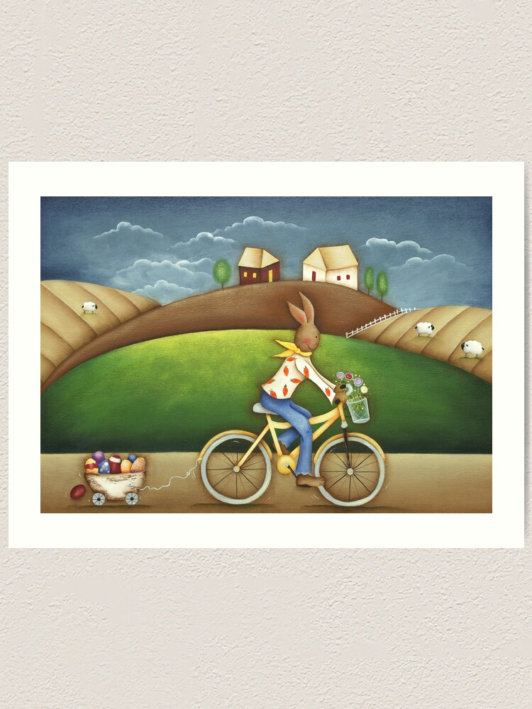 Alternate view of Easter Deliveries Art Print