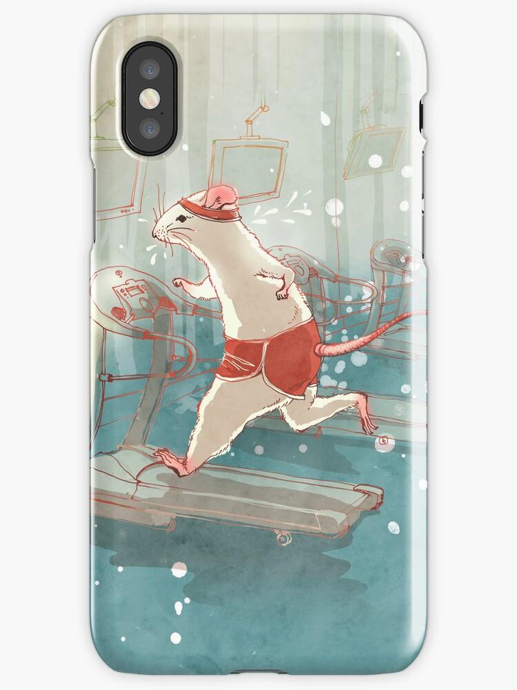 Mouse Runner by Nastia Larkina