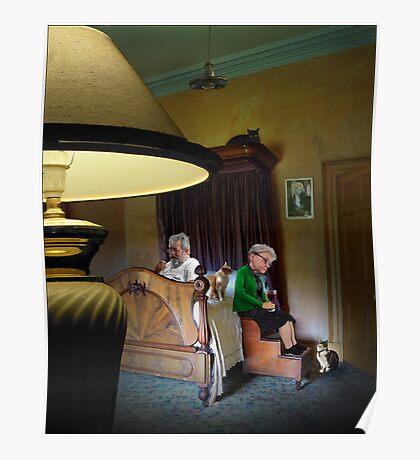 in the boudoir Poster